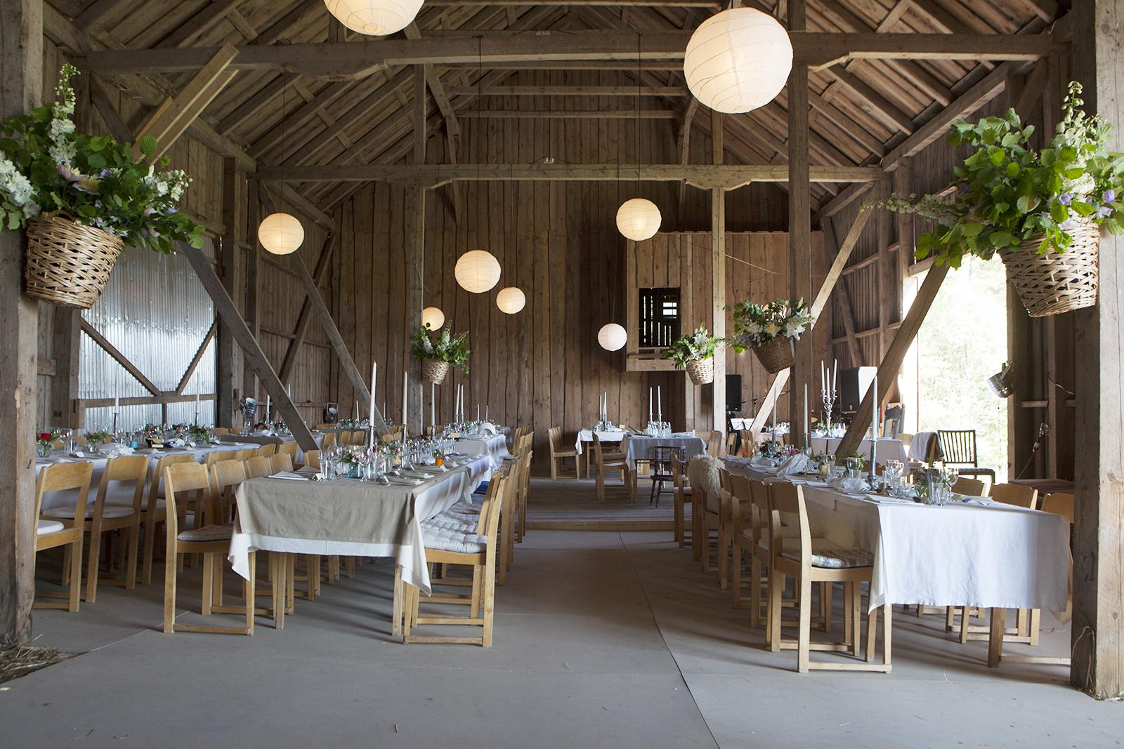 Lantligt Bröllop Stockholm ~ Bröllop på landet, bröllopslokal festlokal Södermanland Stockholm